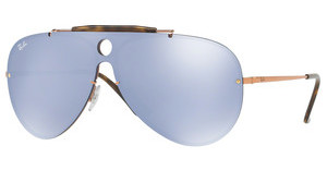 Ray-Ban RB3581N 90351U DARK VIOLET MIRROR SILVERCOPPER