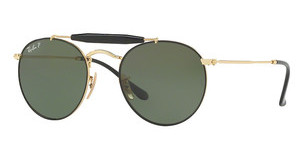 Ray-Ban RB3747 900058 POLAR GREENGOLD/BLACK
