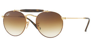 Ray-Ban RB3747 900851 CLEAR GRADIENT BROWNGOLD/HAVANA
