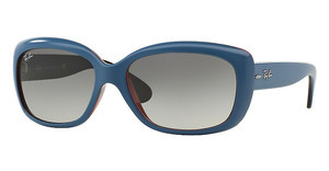 Ray-Ban RB4101 613311 GREY GRADIENTTOP OIL ON TRASP RED