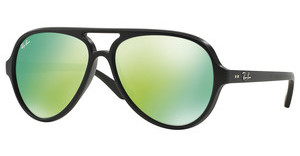 Ray-Ban RB4125 601S19 GREY MIRROR GREENMATTE BLACK