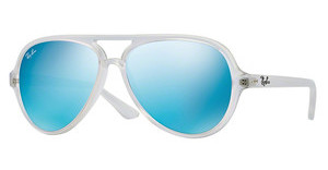 Ray-Ban RB4125 646/17 cry.green  mirror multil.blueclear