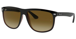 Ray-Ban RB4147 609585 BROWN GRADIENT DARK BROWNTOP BLACK ON BROWN