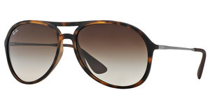 Ray-Ban RB4201 865/13 BROWN GRADIENTRUBBER HAVANA