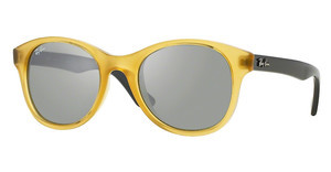 Ray-Ban RB4203 604340 GREEN MIRROR SILVEROPALINE YELLOW