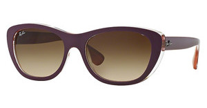 Ray-Ban RB4227 619213 BROWN GRADIENT DARK BROWNTOP MAT VIOLET ON ORANGE