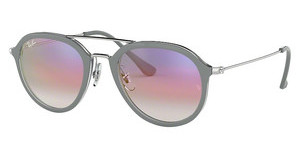 Ray-Ban RB4253 6337S5 CLEAR GRADIENT VIOLETTOP GREY ON TRANSPARENT