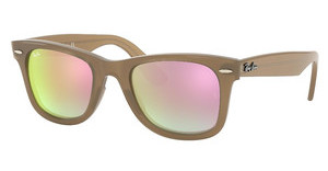 Ray-Ban RB4340 61667Y GREY GRADIENT BROWN MIRROR PINBEIGE