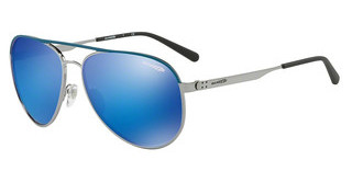 Arnette AN3071 681/25 GREEN MIRROR LIGHT BLUEBLUE RUBBER/GUNMETAL