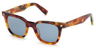 Dsquared DQ0339 53V blauhavanna blond