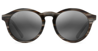 Maui Jim Pineapple 784-14D Neutral GreySlate Grey and Brown Stripe
