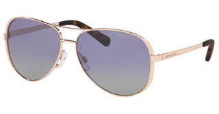Michael Kors MK5004 11088J PURPLE GREY GRADIENT POLARSHINY ROSE GOLD