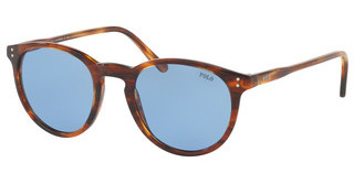 Polo PH4110 500772 LIGHT BLUESTRIPPED HAVANA