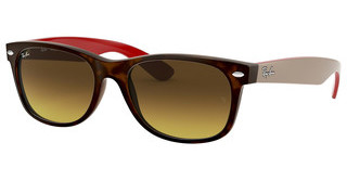 Ray-Ban RB2132 618185 BROWN GRADIENT DARK BROWNMATTE HAVANA