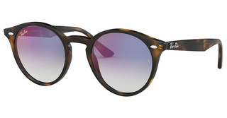 Ray-Ban RB2180 710/X0 GRADIENT BLUE MIRROR REDHAVANA