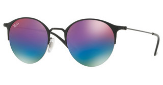 Ray-Ban RB3578 186/B1 GREEN MIRROR BLUE GRADIENT VIOBLACK/MATTE BLACK