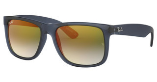 Ray-Ban RB4165 6341T0 BLUE GRADIENT GREEN MIRROR REDTRASPARENT BLUE