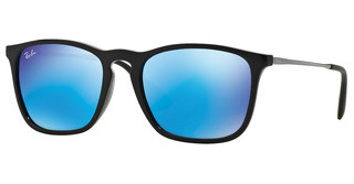 Ray-Ban RB4187 601/55 LIGHT GREEN MIRROR BLUEBLACK
