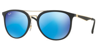 Ray-Ban RB4285 601S55 LIGHT GREEN MIRROR BLUEMATTE BLACK