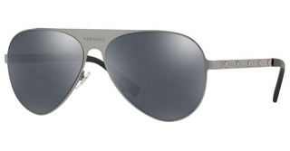 Versace VE2189 12626G GREY MIRROR BLACKBRUSHED GUNMETAL