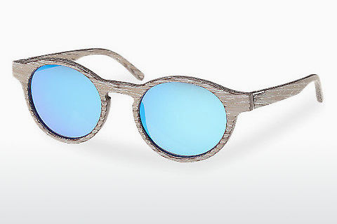 Gafas de visión Wood Fellas Flaucher (10754 chalk oak/blue)