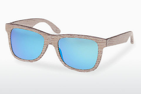 Gafas de visión Wood Fellas Prinzregenten (10755 chalk oak/blue)