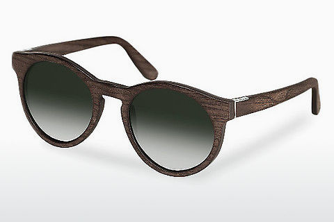 Gafas de visión Wood Fellas Au (10756 black oak/green)