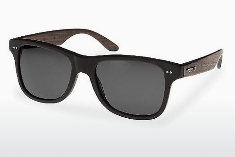 Gafas de visión Wood Fellas Lehel (10757 rosewood/black/grey)