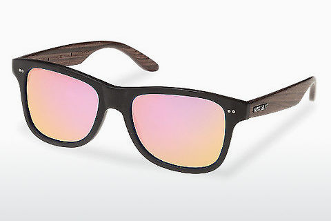 Gafas de visión Wood Fellas Lehel (10757 rosewood/black/rose)