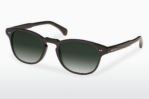 Gafas de visión Wood Fellas Haidhausen (10758 ebony/black/green)