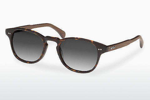 Gafas de visión Wood Fellas Haidhausen (10758 walnut/havana/grey)
