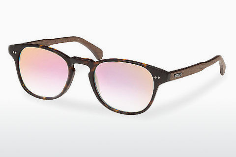 Gafas de visión Wood Fellas Haidhausen (10758 walnut/havana/rose)