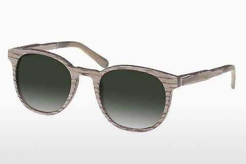 Gafas de visión Wood Fellas Neuhausen (10761 chalk oak/green)