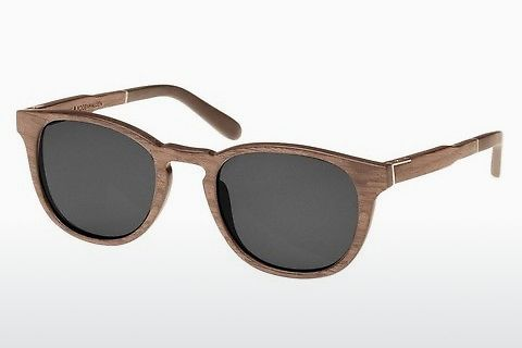 Gafas de visión Wood Fellas Bogenhausen (10762 walnut/grey)