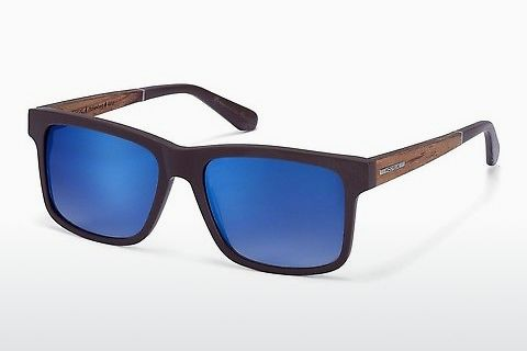 Gafas de visión Wood Fellas Hohenburg (10768 zebrano)