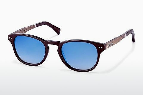 Gafas de visión Wood Fellas Stockenfels (10775 zebrano)