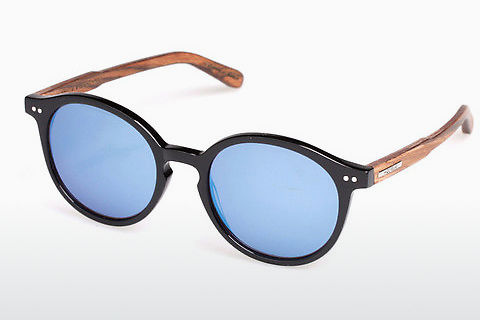Gafas de visión Wood Fellas Basic Leuchtenberg (10793 black oak)