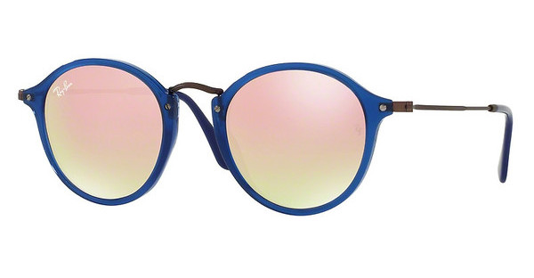 Ray-Ban   RB2447N 62547O COPPER FLASH GRADIENTTRASPARENT BLUE