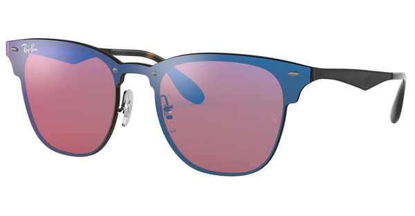 Ray-Ban   RB3576N 153/7V DARK VIOLET MIRROR BLUEDEMI GLOS BLACK