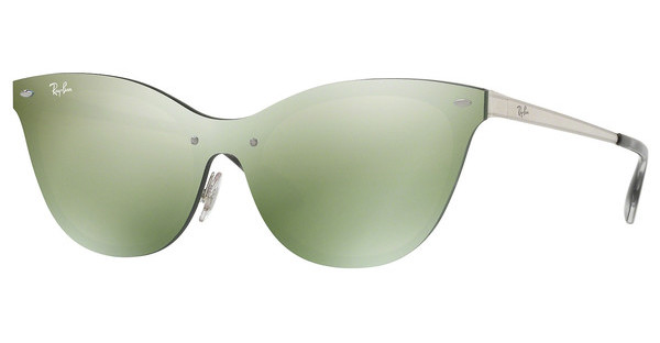 Ray-Ban   RB3580N 042/30 DARK GREEN MIRROR SILVERBRUSCHED SILVER