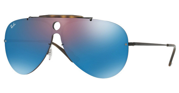 Ray-Ban   RB3581N 153/7V DARK VIOLET MIRROR BLUEDEMIGLOS BLACK