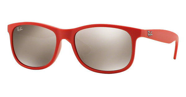 Ray-Ban   RB4202 61555A LIGHT BROWN MIRROR GOLDSHINY CORAL ON MATTE TOP