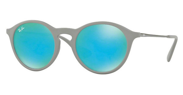 Ray-Ban   RB4243 6262B4 GREEN LIGHT FLASH BLUERUBBER GREY