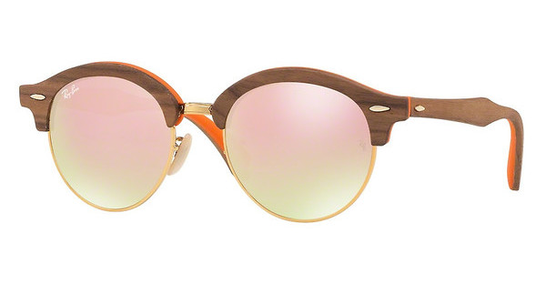 Ray-Ban   RB4246M 12187O GRADIENT BROWN MIRROR PINKLIGHT BRONZE