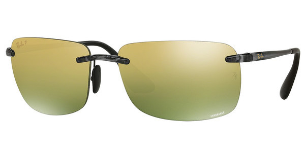 Ray-Ban   RB4255 621/6O GREEN MIRROR GOLD POLARSHYNY GREY